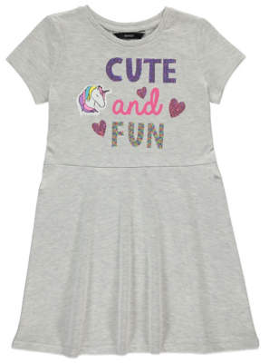 George Grey Cute and Fun Sequin T-shirt Dress