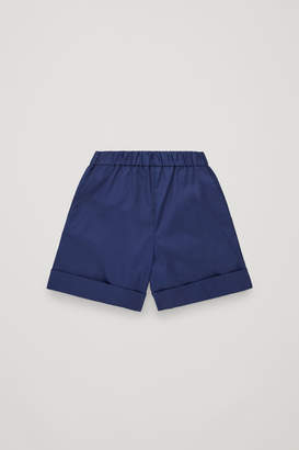Cos COTTON SHORTS WITH POCKET