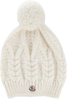 Moncler Moncler Cable Knit Beanie w/ Tags