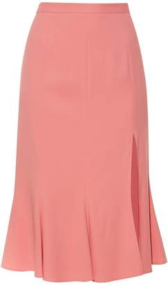 Altuzarra Holliday side-slit fluted skirt