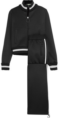Off-White - Embroidered Neoprene Tracksuit - Black $1,330 thestylecure.com