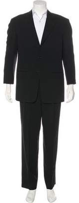 Armani Collezioni Three-Button Wool Suit