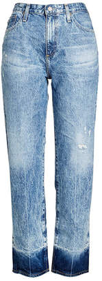 AG Jeans Distressed High Waisted Jeans