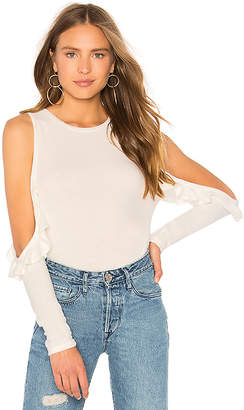 Generation Love Brielle Ruffle Top