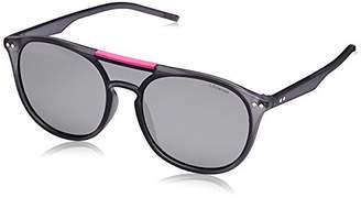 Polaroid Unisex's PLD 6023/S JB TJD Sunglasses, Grey Silmir Pz