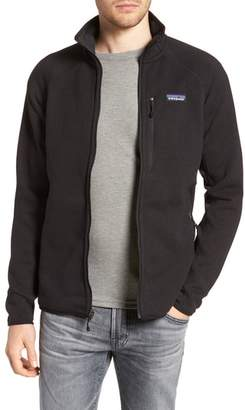 Patagonia Better Sweater(R) Performance Slim Fit Zip Jacket
