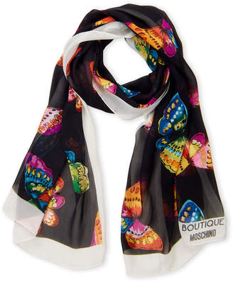 Moschino Spring Butterfly Scarf