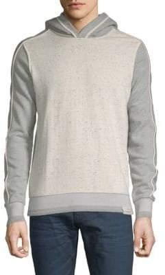 Scotch & Soda Heathered Cotton Hooded Sweatshirt