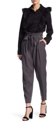 Socialite Paperbag Waist Tie Trousers
