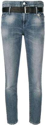 RtA cropped tapered jeans