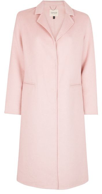 TopshopTopshop Butted seam coat