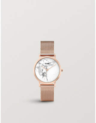 Cluse CL40107 La Roche Petite rose gold-plated watch