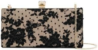 Jimmy Choo Celeste floral lace clutch