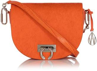 Amanda Wakeley Crossbody Niven Bag in Marrakech Orange