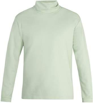 Sies Marjan - High Neck Cotton Sweatshirt - Mens - Mint