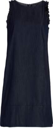 Max Mara Cotton Denim A-Line Dress