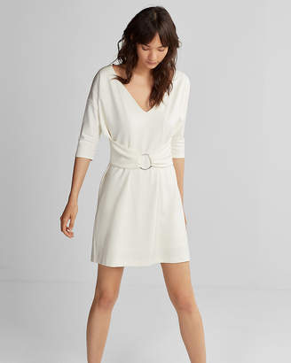 Express Dolman Sleeve O-Ring Dress