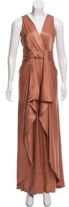 Temperley London Silk Sleeveless Evening Dress