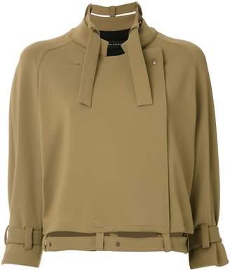 Gloria Coelho raglan sleeves coat