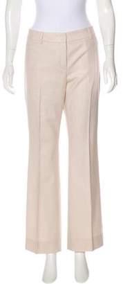 Akris Wide-Leg Wool Pants