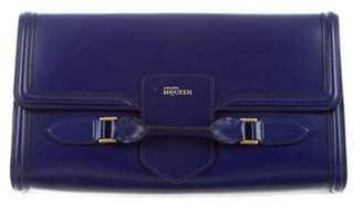 Alexander McQueen Large Leather Clutch
