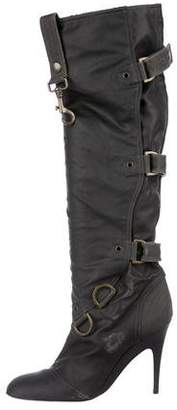 Stella McCartney Multistrap Knee-High Boots