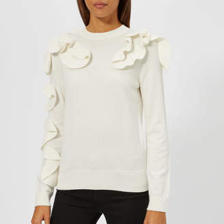 5fab52146377e ... at TheHut.com · Ted Baker Women s Pallege Frill Sleeve and Shoulder Jumper  best ...