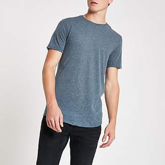 Mens Jack and Jones Navy blue Premium T-shirt