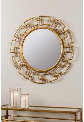 Mercer41 Round Beveled Wall Mirror
