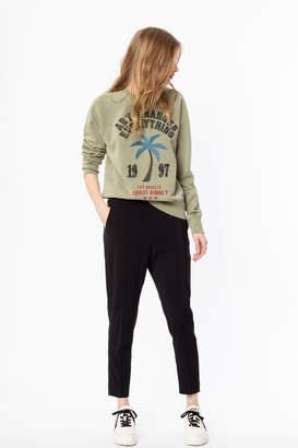 Zadig & Voltaire Upper BrodA Palm sweatshirt