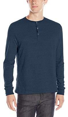 Threads 4 Thought Men's Triblend Long-Sleeve Henley Shirt