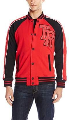 True Religion Men's Active Varsity Collegiate Fleece Jacket