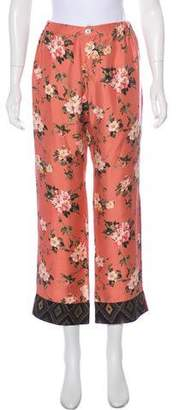 For Restless Sleepers Silk Mid-Rise Pajama Pants