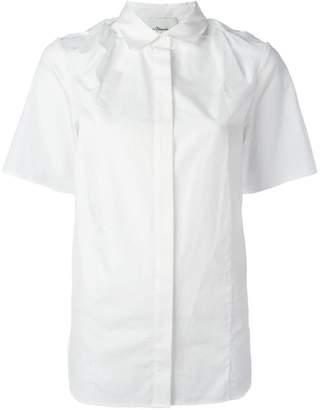 3.1 Phillip Lim twist knot shortsleeved shirt