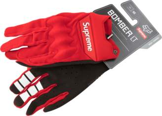 Fox Racing Supreme Bomber Light Gloves - 'SS 18' - Red