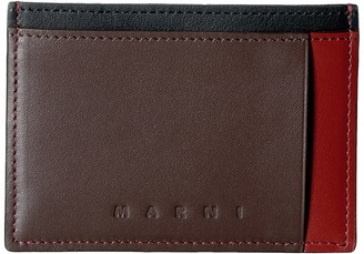 MARNI - Multicolor Card Holder Credit card Wallet $225 thestylecure.com