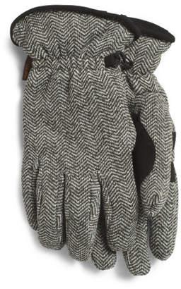 Sweater Fleece & Microsuede Palm Gloves