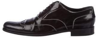 Dolce & Gabbana Wingtip Leather Oxfords