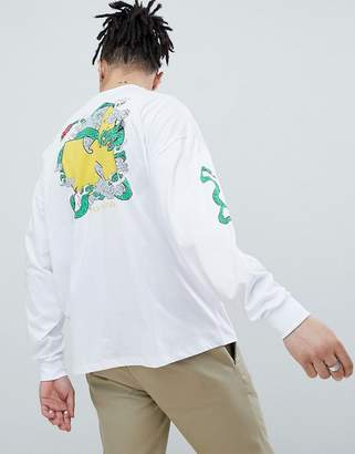 Asos Design DESIGN Wu Tang Clan oversized long sleeve t-shirt