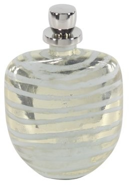 DecMode Decmode Traditional 12 X 8 Inch Decorative Glass Bottle