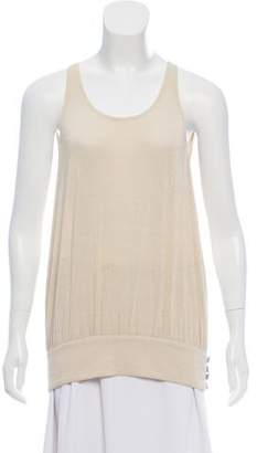 Ramy Brook Ruched Sleeveless Blouse