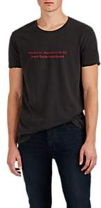 Ksubi Men's Thought Stop Cotton T-Shirt - Black