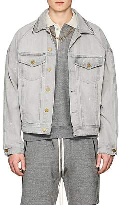 Fear Of God Men's Distressed Selvedge Denim Jacket