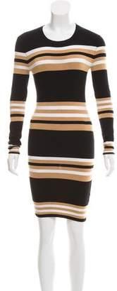 Torn By Ronny Kobo Mini Sweater Dress