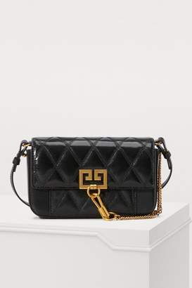 Givenchy Mini pocket bag in diamond quilted leather