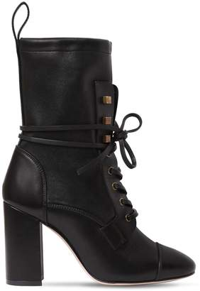 Stuart Weitzman 80mm Veruka Leather Ankle Boots