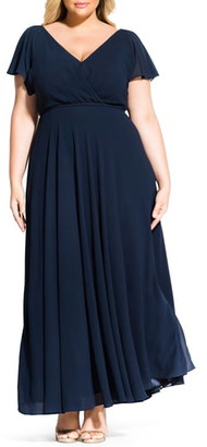 City Chic Sweet Wishes Maxi Dress