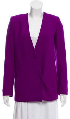 Honor Collarless Tweed Blazer