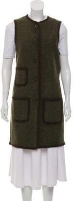 Max Studio Wool Bicolor Vest w/ Tags