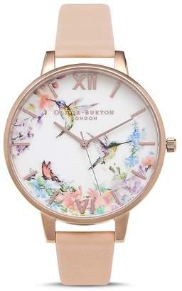 Olivia Burton Painterly Prints Watch, 30mm